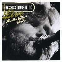 Kris Kristofferson - Live da Austin Tx (CD+DVD) Nuovo CD