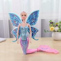 Mermaid Doll With Wings Butterfly Swimming Toy For Children Girls Fairy Princess