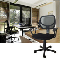 Black Ergonomic Mesh Executive Swivel Computer Desk Office Chair w/ Hanger