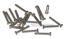 20-SS #10-24 X 1-1/4 HH HEX HEAD MACHINE SCREWS BOLTS STAINLESS STEEL 18-8 PARTS