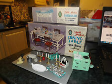 Vintage boxed Marx LITTLE HOSTESS Dining Table & SIDEBOARD ETC Sindy Barbie doll