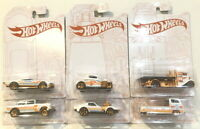 2020 Hot Wheels 52nd Anniversary Pearl & Chrome Series Complete Set of 6 Cars