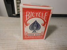 Bicycle Rider Back Poker 808 Red Playing Cards Deck Tax Stamp Air Cushion SEALED