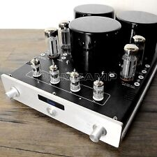 YAQIN MC-10T BK 10L EL34 Vacuum Tube Push-Pull Integrated Amplifier 110v-240v BK