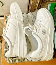 Champion white Trainers/Tennis/Court Shoes EU41  6.5/7 worn x1 FREEdelivery2 RG1