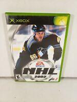 NHL 2002 Microsoft Xbox Complete in Box CIB