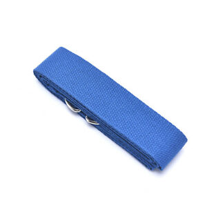 Yoga Stretch Strap D-Ring Buckle Belts Gym Fitness Equipment Weight Loss Too LB