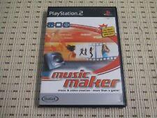 MAGIX Music Maker für Playstation 2 PS2 PS 2 *OVP*