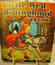 Little Red Ridinghood. Color Illustrated Pop-Up 1934