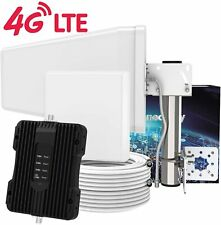 SolidRF 4G K1 Cell Phone Signal Booster for Home - Enhance Up To 4,000 Sq'