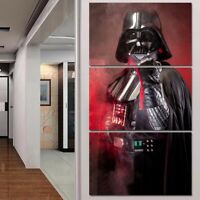 Star Wars Character Decorative Paintings Modern Wall Pictures Art 3 Panel