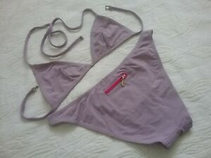 Chanel Bikini Set Pastellviolett Gr.38 (fr.)