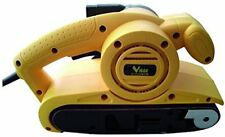 Levigatrici elettriche a nastro giallo per il bricolage e il fai da te senza inserzione bundle