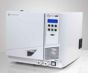 NEW Prestige Medical Anima Pro Veterinarian 22L FlexiRack CoolTech Autoclave