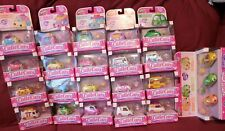 Shopkins Cutie Cars Lot Cars #1 thorough 34 - Lot of 34 cars