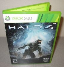 HALO 4 Microsoft XBOX 360 2 Disc Set Day 1 1st Printing First Person Shooter FPS