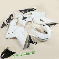 Unpainted Fairing Bodywork Kit For Ducati 848 1098 1198 2007-2012 ABS Plastic