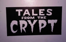 STICKER - Tales from the Crypt - vinyl HORROR show - cryptkeeper keeper