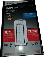 ARRIS SURFboard AC1600 Dual-Band Router with DOCSIS 3.0 Cable Modem SBG6700White