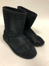 Emu Australia Stinger Lo Black Womens Winter Boots Size 7