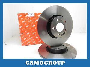 Pair Brake Disc Front Pair Of ALFA ROMEO 147 156 DF4025