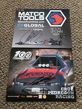2020 Autographed Cruz Pedregon And Anton Brown Handouts Postcard