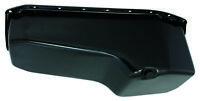 SB Chevy SBC Black 5qt Passenger Side Dipstick Oil Pan 350 1979 - 86  W/ Bolts