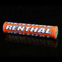 Renthal SX 240mm MX Enduro Handlebar Bar Pad - Team Troy Lee/Orange