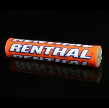 Renthal SX 240mm MX Enduro Handlebar Bar Pad - Team Troy Lee/Orange