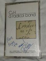 C2H Band A Radical Bond Cassette locust lane music 1989 signed