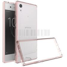 Slim Hybrid Clear TPU Case Shockproof Bumper Cover For Sony Xperia XA1 / Ultra