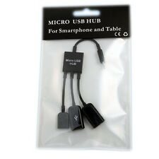 C210 Micro USB Dual OTG Hub Cable For Acer Iconia A Tablet A1 A1-810 A1-811