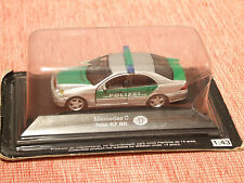2002 MERCEDES C CLASS GERMAN POLICE VEHICLE 1:43 SCALE