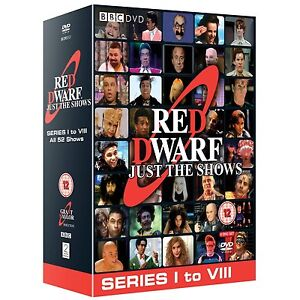 Red Dwarf Just The Shows Complete Series Seasons 1 - 8 DVD Box Set R4