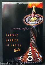 FANTASY GODDESS OF AFRICA Barbie Doll in SHIPPER Bob Mackie International Beauty