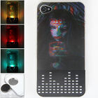 New 3D Vampire Led Sense Flashing lights Hard Case Cover Skin for iPhone 4 / 4S