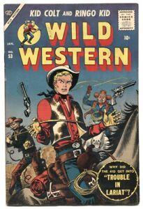 Wild Western #53 1957- Atlas comics- Kid Colt FN+
