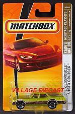2009 Matchbox #1 '71 Oldsmobile® Vista Cruiser™ LIME GREEN/TRI-SPOKE WHEEL/MOC