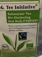 (GP:34,83€/kg) 3kg Darjeeling First Flush Schwarzer Tee FTGFOP 1 Bio FAIRTRADE
