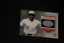 ANDRE DAWSON 2001 UD MINORS GAME USED JERSEY CARD EXPOS CUBS LEGEND