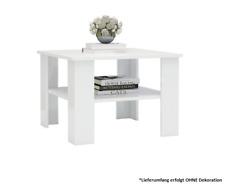 Couchtisch Wohnzimmertisch Beistelltisch Tisch Wohnzimmer Hochglanz-Weiß