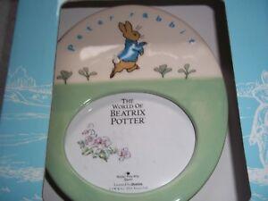 BEATRIX POTTER PETER RABBIT FRAME FROM BORDER FINE ARTS BNIB A21781 VERY RARE
