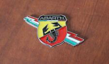 Stemma Logo Emblema Fregio Marchio Tricolore Laterale Abarth Fiat 500 Punto Evo