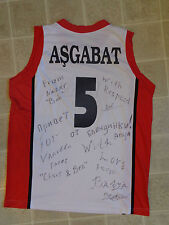 YBORSM signed jersey SHIRT team ASGABAT spartak moscow football FC hockey CLUB