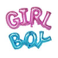 Utile garçon/fille feuille d'aluminium ballons jour enfants Decor Baby Shower