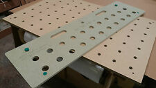 Rs CNC Pro JIG To make Festool style MFT type replacement perforated tops