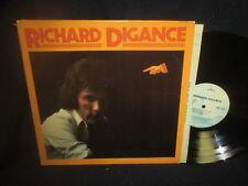 Richard Digance Self Titled LP PROMO with lyrics insert