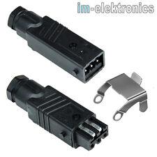 Hirschmann Stas 3 N Leitungsstecker + Stak 3 N Connettore Elettrico 3 Polig +Pe