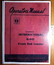 IH International McCormick B-901 Loader for B250 B275 B414 Operator Parts Manual