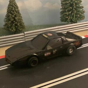 Scalextric 1:32 Car - Knight Rider - Black Pontiac Trans AM KITT #Z